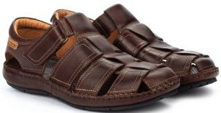 Pikolinos TARIFA 06J-5433 Leather Sandals for Men - Olmo