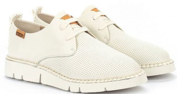 Pikolinos Vera W4L-6780 Leather Lace-Up Shoe for Women - Nata