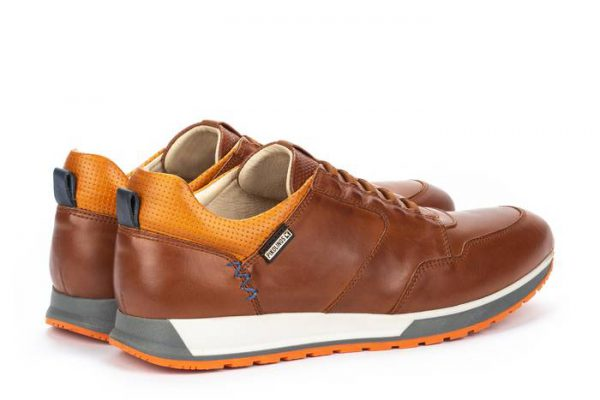 Pikolinos CAMBIL M5N-6256 Leather Men's Sneaker - Cuero