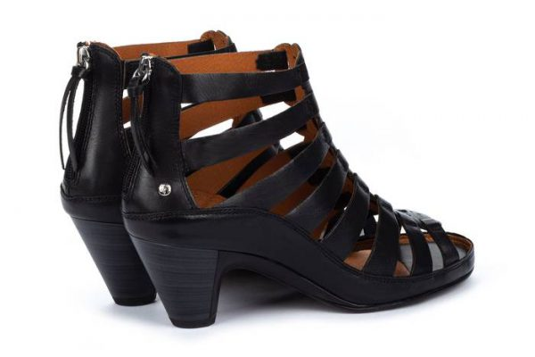 Pikolinos JAVA W5A-1701 Leather Women's Sandal - Black