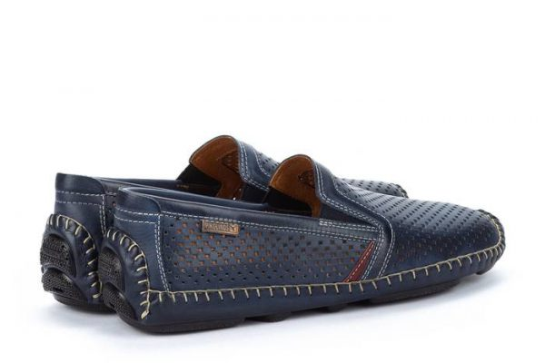 Pikolinos JEREZ 09Z-3100 Leather Slip-on Shoe for Men - Blue