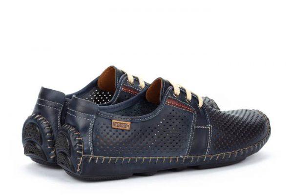 Pikolinos JEREZ 09Z-6038 Leather Lace-up Shoe for Men - Blue