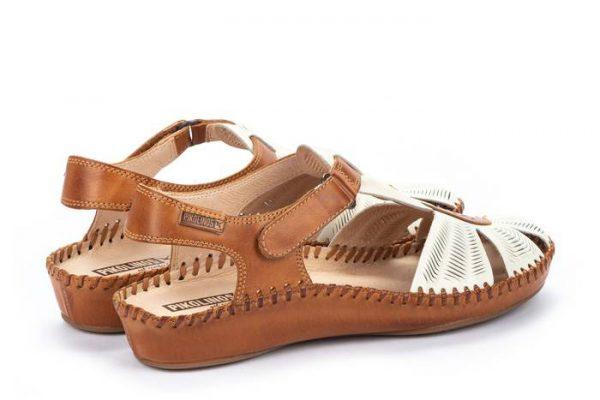Pikolinos P. VALLARTA 655-0575 Leather Women's Sandal - Nata