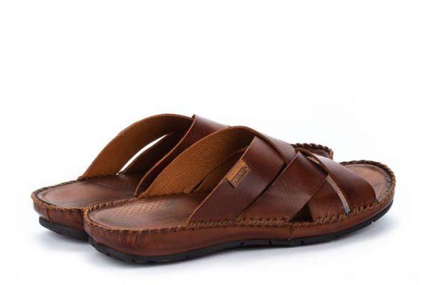 Pikolinos TARIFA 06J-0015 Leather Sandals for Men - Cuero