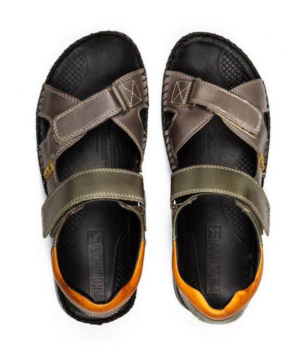 Pikolinos 06J-5818C1 Men's Sandals - Dark Grey