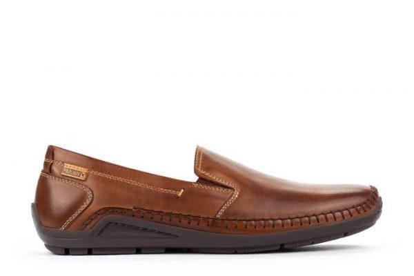 Pikolinos AZORES 06H-5303 Leather Slip-on Shoe for Men - Cuero