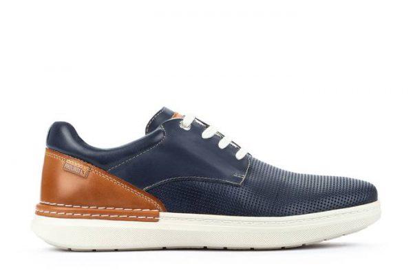 Pikolinos BEGUR M7P-4349C1 Leather Men's Sneaker - Blue