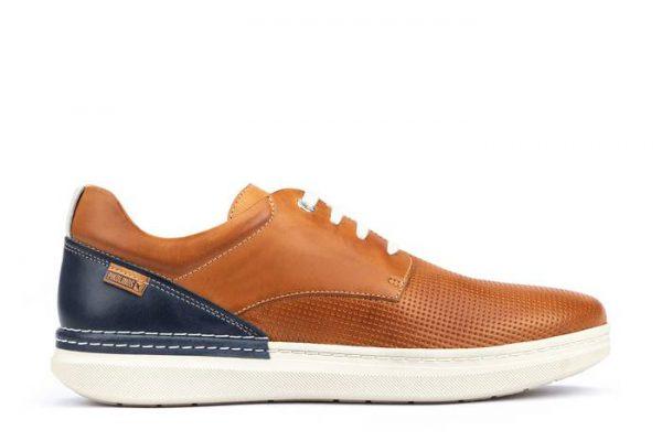 Pikolinos BEGUR M7P-4349C1 Leather Men's Sneaker - Brandy