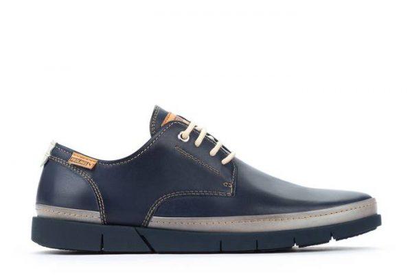 Pikolinos PALAMOS M0R-4339C1 Leather Lace-up Shoe for Men - Blue