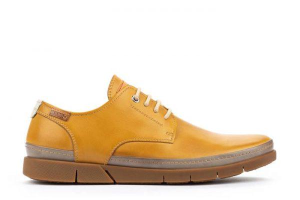 Pikolinos PALAMOS M0R-4339C1 Leather Lace-up Shoe for Men - Honey