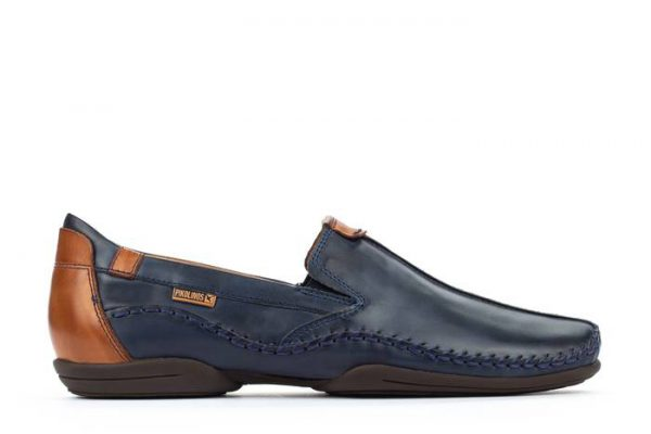 Pikolinos PUERTO RICO 03A-3008C1 Leather Slip-on Shoe for Men - Blue