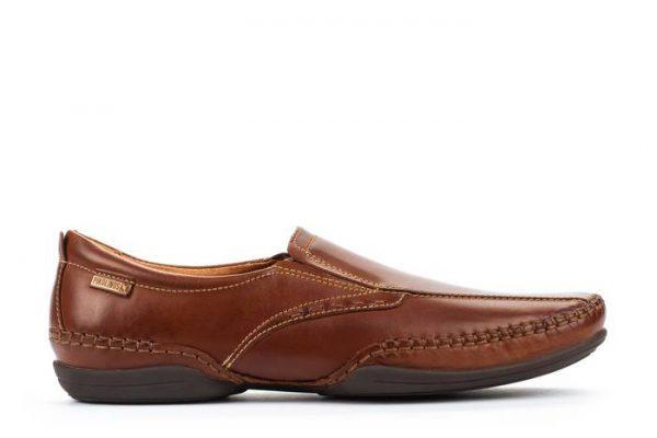 Pikolinos PUERTO RICO 03A-6222 Leather Slip-on Shoe for Men - Cuero