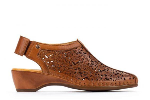 Pikolinos ROMANA W96-1920 Leather Women's Sandal - Brandy