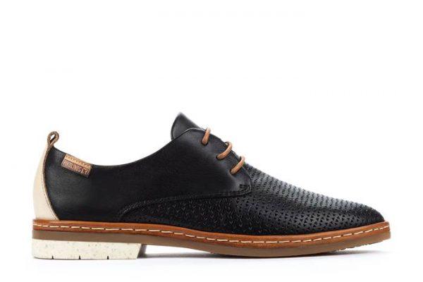 Pikolinos SANTANDER W7C-4987C1 Leather Lace-up Shoe for Women - Black
