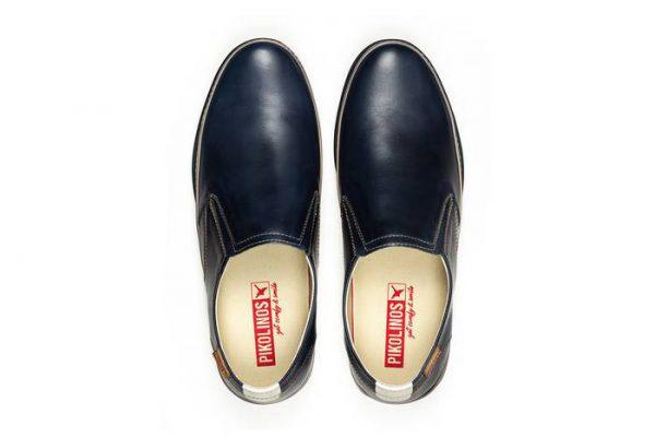 Pikolinos PALAMOS M0R-3203C1 Leather Slip-on Shoe for Men - Blue