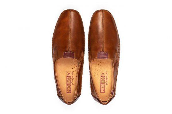 Pikolinos PUERTO RICO 03A-3008C1 Leather Slip-on Shoe for Men - Cuero