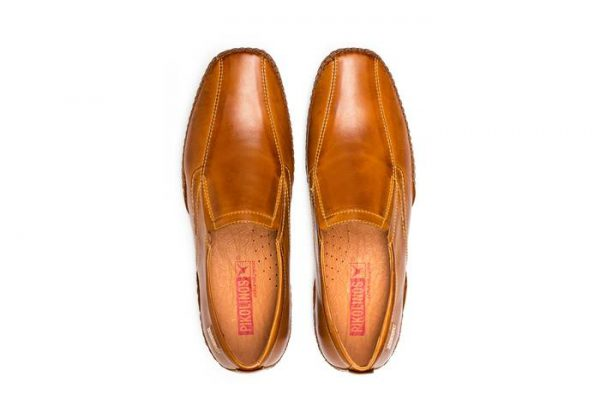 Pikolinos PUERTO RICO 03A-6222 Leather Slip-on Shoe for Men - Brandy