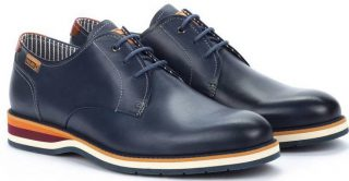 Pikolinos ARONA M5R-4343 Leather Lace-up Shoe for Men - Blue