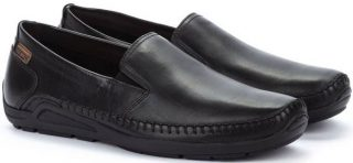 Pikolinos AZORES 06H-5303 Leather Slip-on Shoe for Men - Black