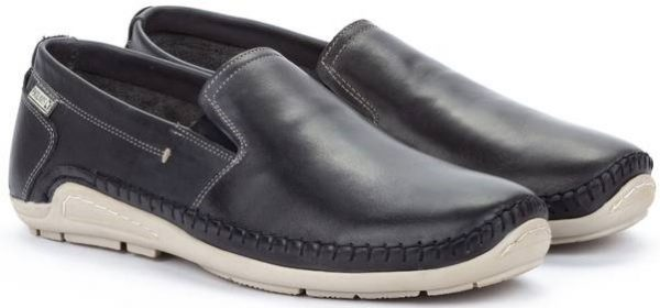 Pikolinos AZORES 06H-5303 Leather Slip-on Shoe for Men - Navy Blue