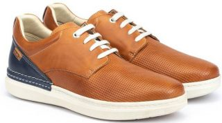 Pikolinos BEGUR M7P-4349C1 Leather Men's Sneaker - Brandy