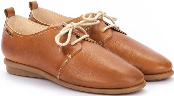 Pikolinos CALABRIA W9K-4985 Leather Lace-up Shoe for Women - Brandy