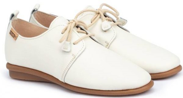 Pikolinos CALABRIA W9K-4985 Leather Lace-up Shoe for Women - Nata