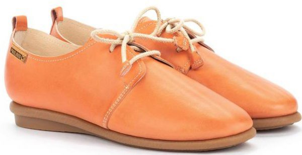 Pikolinos CALABRIA W9K-4985 Leather Lace-up Shoe for Women - Scarlet