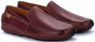 Pikolinos JEREZ 09Z-5511 Leather Slip-on Shoe for Men - Garnet