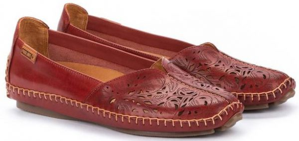 Pikolinos JEREZ 578-4976 Leather Women's Slip-On Shoe - Sandia