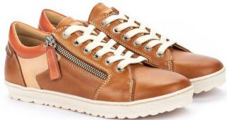 Pikolinos LAGOS 901-6766C2 Leather Lace-up Shoe for Women - Brandy