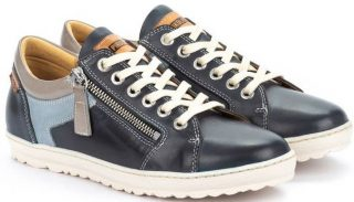 Pikolinos LAGOS 901-6766C2 Leather Lace-up Shoe for Women - Ocean