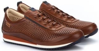 Pikolinos LIVERPOOL M2A-6252 Leather Men's Sneaker - Cuero