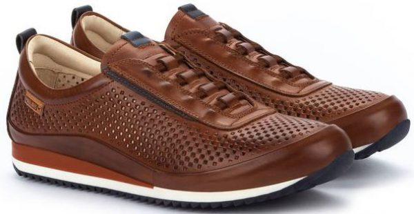 Pikolinos LIVERPOOL M2A-6252 Leather Men's Sneaker - Cuero