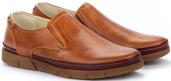 Pikolinos PALAMOS M0R-3203C1 Leather Slip-on Shoe for Men - Brandy