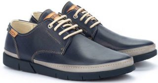 Pikolinos PALAMOS M0R-4339C1 Leather Lace-up Shoe for Men - Blue