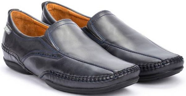 Pikolinos PUERTO RICO 03A-6222 Leather Slip-on Shoe for Men - Navy Blue