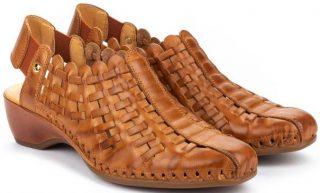 Pikolinos ROMANA W96-1553 Leather Women's Sandal - Brandy