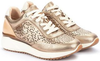 Pikolinos SELLA W6Z-6869CL Leather Sneaker for Women - Champagne
