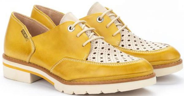Pikolinos SITGES W7J-4916C1 Leather Lace-up Shoe for Women - Sol
