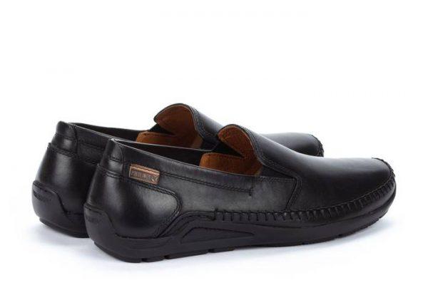 Pikolinos AZORES 06H-5303 Leather Slip-on Shoe for Men - Black