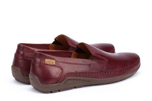 Pikolinos AZORES 06H-5303 Leather Slip-on Shoe for Men - Garnet