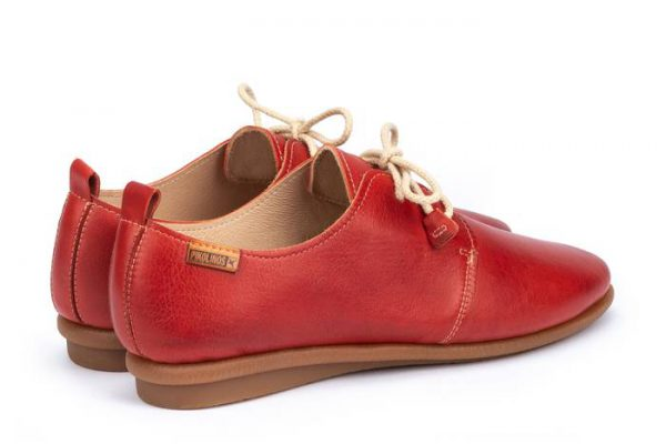 Pikolinos CALABRIA W9K-4985 Leather Lace-up Shoe for Women - Coral