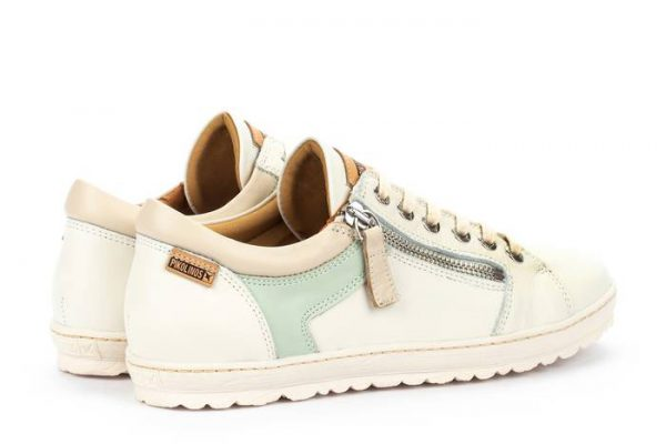 Pikolinos LAGOS 901-6766C2 Leather Lace-up Shoe for Women - Nata