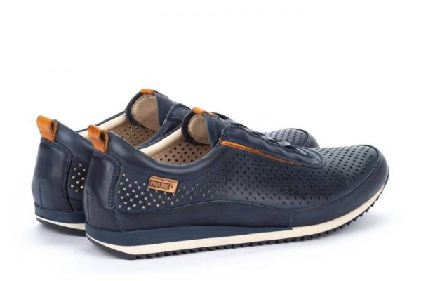 Pikolinos LIVERPOOL M2A-6252 Leather Men's Sneaker - Blue
