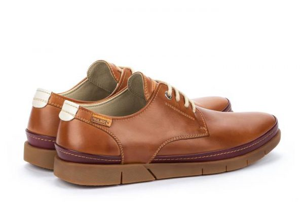 Pikolinos PALAMOS M0R-4339C1 Leather Lace-up Shoe for Men - Brandy