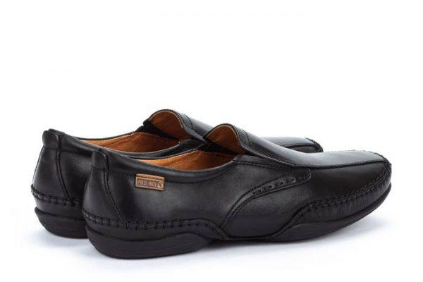 Pikolinos PUERTO RICO 03A-6222 Leather Slip-on Shoe for Men - Black