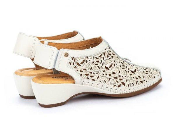 Pikolinos ROMANA W96-1920 Leather Women's Sandal - Nata