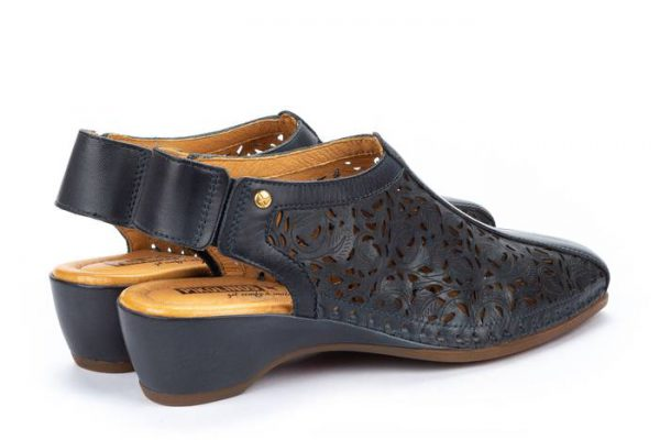 Pikolinos ROMANA W96-1920 Leather Women's Sandal - Ocean