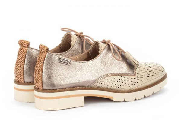 Pikolinos SITGES W7J-4846C2  Leather Lace-up Shoe for Women - Marfil